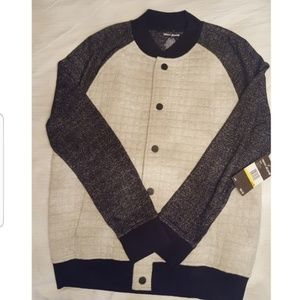 DKNY MEN  LONG SLEEVE SWEATER